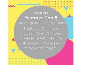 Top 5 Art Events 2018